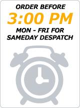 Order before 3pm - Same day Dispatch - Mon - Fri