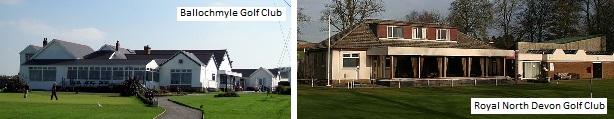 Golf Clubs - Artificial Grass