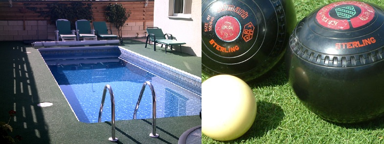 Artificial Grass - Swimming